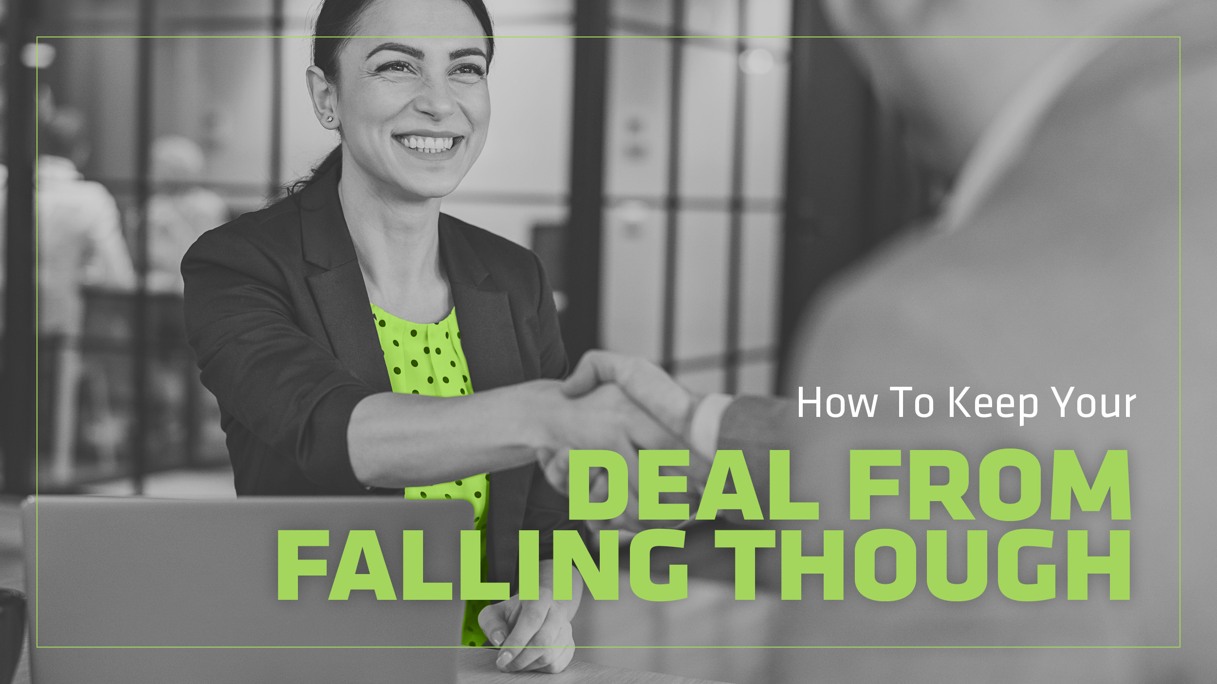What Defects Can Affect Transfer of Title - and How Can You Keep Your Deal From Falling Though?
