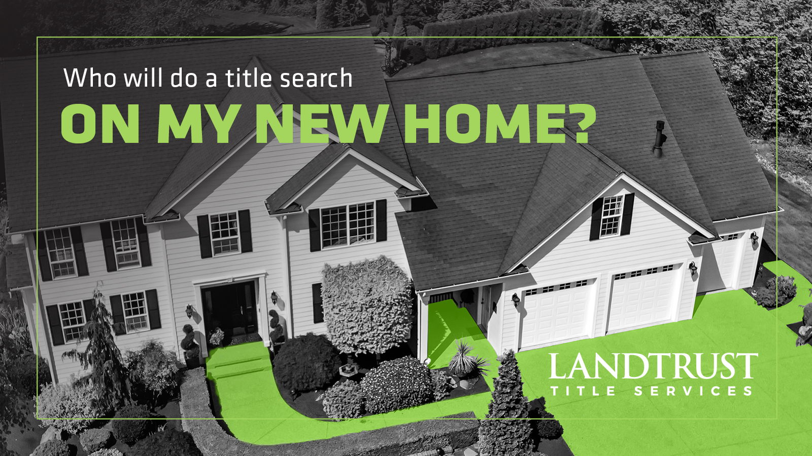 Who WIll Do the Title Search on My New Home?